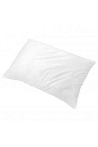 Ref POLLUX -  Oreiller percale coton - protection ULTRAFRESH- CONFORT MEDIUM.