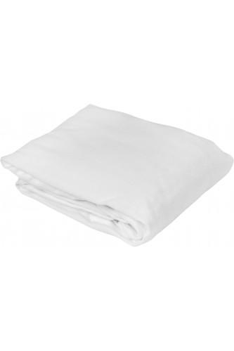 Protège matelas molleton 100% coton épais, forme drap housse