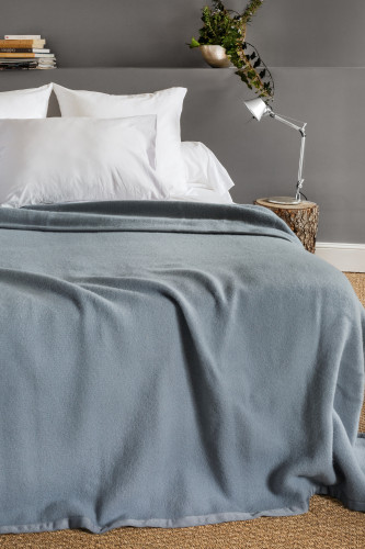 Ref VICTORIA - Couverture  100% lambswool