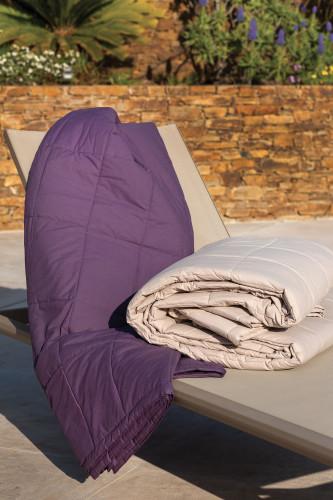 Ref CAP FERRET  - Couvre lit en coton lavé