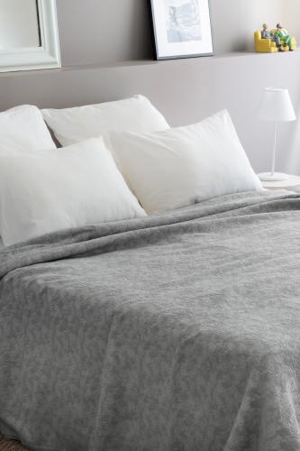Dessus de lit jacquard effet texturé