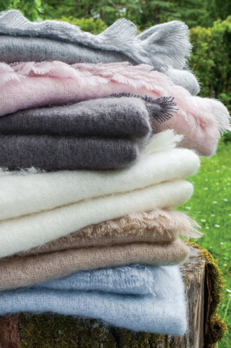 Ref THESEE - Couverture mohair